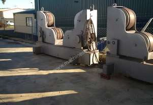 Methods 40,000T Pipe Rotator and Idler