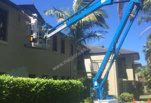 Genie TZ34/20 Trailer Mounted Boom Lift