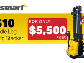 Liftsmart LS10 Electric Walkie Stacker - picture0' - Click to enlarge