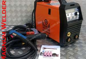 Magnum Welders Digital Mini Mig200/Arc/Lift Tig 200amp Gas & Gasless Welder only 8kg