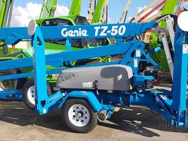 Genie TZ50 DS Hybrid Trailer Mounted Boom Lift - picture0' - Click to enlarge