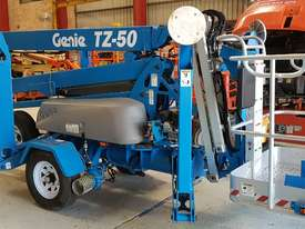 Genie TZ50 DS Hybrid Trailer Mounted Boom Lift - picture3' - Click to enlarge