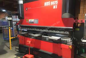 Amada HDS 8025 - Great opportunity to own a high end Amada press brake. Warranty Included