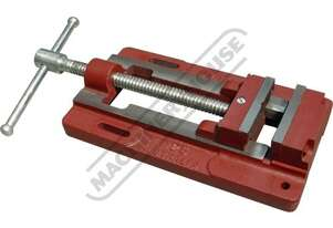 60221 Drill Press Vice 125mm Jaw Width 250mm Jaw Opening