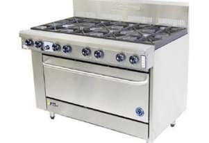 Goldstein 8 Burner Gas Top With Static Electric Oven