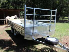 Ozzi 14x7 Flat Top Trailer 3000kg - picture0' - Click to enlarge