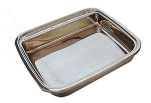 CookTek 28005 Rectangle Stainless Steel insert for Chafer