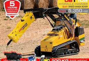 UBT10S Silence Hydraulic Hammer Mini loaders Concrete Rock Breaker ATTUBT