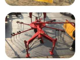 2.5m Rotary Hay Rake (12 tines) - picture0' - Click to enlarge