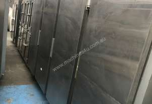 MEC stainless steel x 4 doors freezer