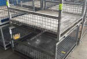 Used Fully Welded Stillage Cages