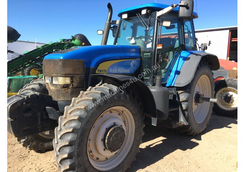 TM175 New Holland Tractor - #504319