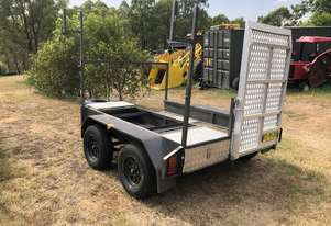 2017 Tandem Axle Plant Trailer, ATM 2,500KG Jimboomba Trailers Rego 2019