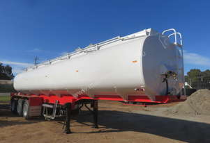 UNUSED 2018 ACTION TRI AXLE WATER TANKER TRAILER (33,000Ltrs)