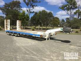 2013 MTE Tri/A Hydraulic Widening Low Loader - picture1' - Click to enlarge