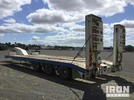 2013 MTE Tri/A Hydraulic Widening Low Loader - picture2' - Click to enlarge