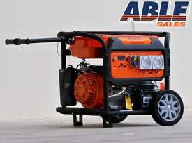 6.5 kVA 240 volt Trade Spec Petrol Generator - picture6' - Click to enlarge