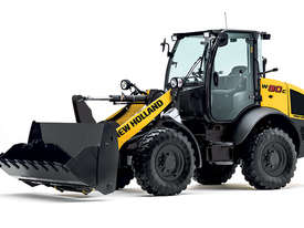 New Holland W80C Compact Wheel Loader - picture0' - Click to enlarge
