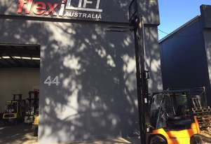 TOYOTA 7FB18 1.8-Ton Electric-Counterbalance Forklift Fully Refurbished