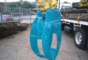 Australian Made - 7-8Tonne 4 Tyne Hydraulic Grab