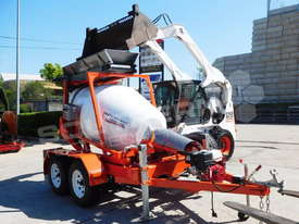 Concrete Mixer Interstate Trailers CMX1300 Mini Mixer ATTMIX - picture3' - Click to enlarge