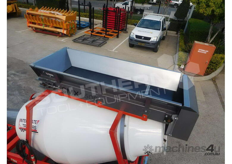 Concrete Mixer Interstate Trailers CMX1300 Mini Mixer ATTMIX