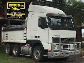 2002 Volvo FH-16 Tandem Tipper & Dog Trailer.  TS455 - picture1' - Click to enlarge