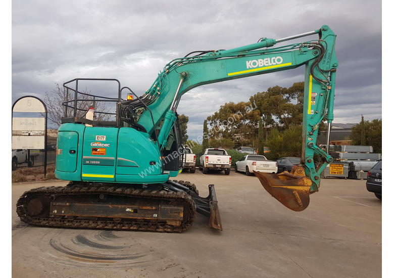 2017 KOBELCO SK135SR-3 EXCAVATOR IN GREAT CONDITION WITH LOW 1895 HOURS, FULL CIVIL SPEC AND BUCKETS
