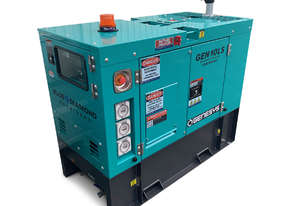 10 KVA Diesel Generator 240V Mine Spec  - 2 YEARS WARRANTY