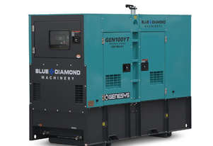 100 KVA DIESEL GENERATOR 3 PHASE 415V - BACK-UP - 2 YEARS WARRANTY