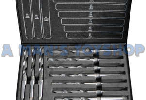 DRILL SET MT2 10 PCE 14.5-23MM METRIC