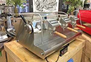 SYNESSO SABRE 3 GROUP STAINLESS ESPRESSO COFFEE MACHINE