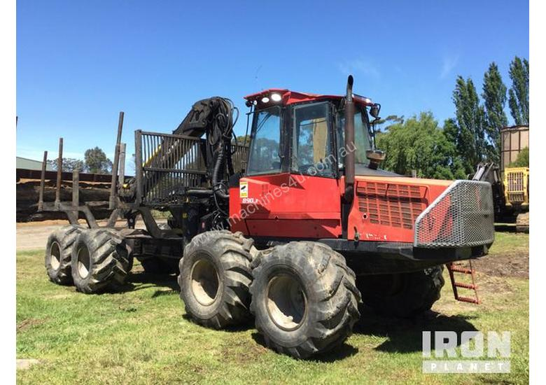2007 Valmet 890-3 Log Forwarder