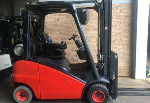 Linde H18 1.8ton 4.25m Side Shift Fully Auto 2012 Roll Out Low Hrs Fully Operat