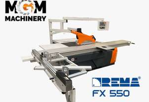 Rema FX 550 Panel Saw From Poland - A 1.4 Tonne beast of a machine.