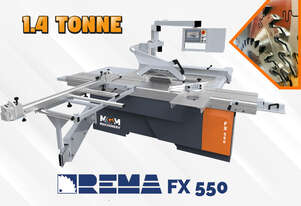 Download PDF For Pricing: Rema FX 550 Panel Saw From Poland - A 1.4 Tonne beast of a machine.