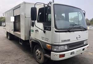 Hino FD Drain Cleaning Water Jetting Truck