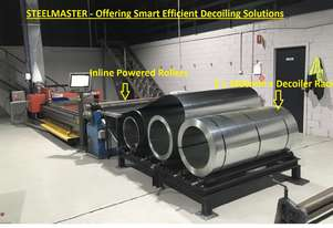 Multi Decoiler Coil Rack Perfect For all CNC Plasma & Laser Material Infeed