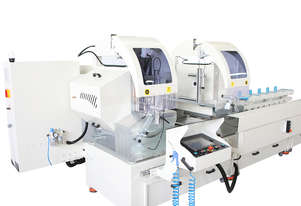 AS 424 Industrial Double Head Cutting Machine Ø 500 mm - Semi-automatic with 1 Axis Servo Control