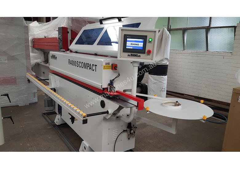 EX SHOWROOM RHINO R4000S COMPACT EDGE BANDER AVAILABLE NOW