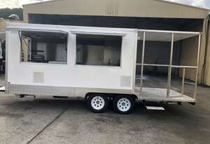 Smoker Joe Food Trailer