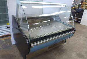 PRESTIGE 1500 CURVED GLASS COLD DELI DISPLAY UNIT