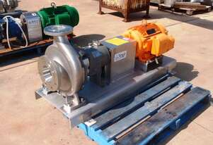 Centrifugal Pump (Stainless Steel), IN: 125mm Dia, OUT: 80mm Dia
