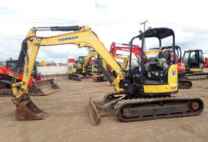 Used 2015 Yanmar VIO45 for Sale 4.5T Mini Excavator for sale, 2415.20 Hrs - Pinkenba, QLD