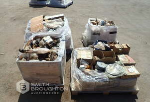 4 X PALLETS ASSORTED SPARE PARTS