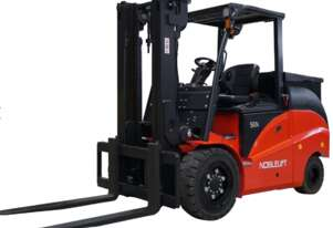 Noblelift 5 Tonne 4 Wheel Electric Counterbalance Forklift
