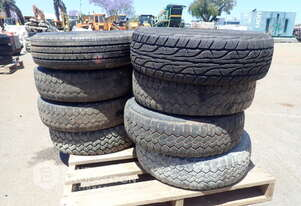 2 X PALLETS OF ASSORTED TYRES