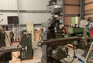 Used Pacific FT2 Turret Milling Machine