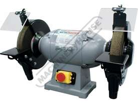 BG-10 Industrial Bench Grinder Ø250mm Fine & Coarse Wheels 1kW - 1.3HP Motor Power - picture0' - Click to enlarge