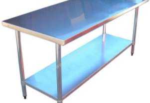 Brayco 3072 Flat Top Stainless Steel Bench (762mmW